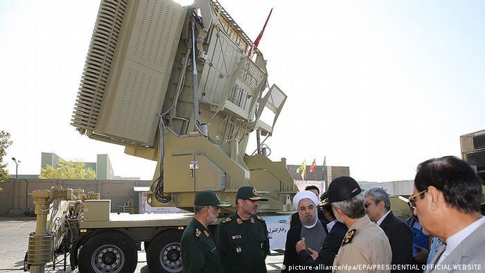 Iran Flugabwehrraketensystem Missile S-300 in Teheran