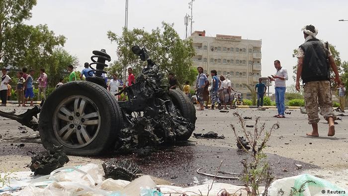 Jemen Terrorismus Anschlag in Aden