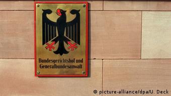Deutschland Generalbundesanwaltschaft (picture-alliance/dpa/U. Deck)