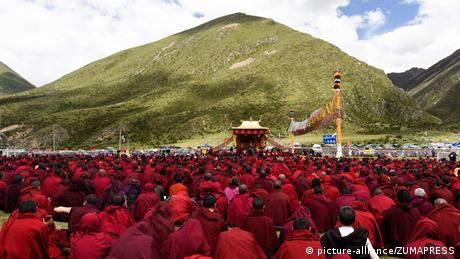 Tibet Dharma Versammlung (picture-alliance/ZUMAPRESS)