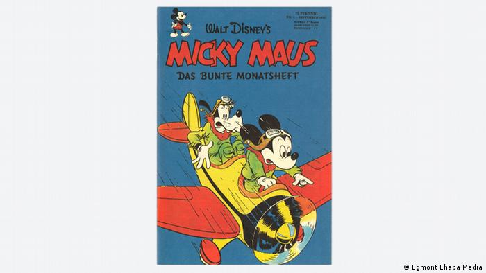 Cover Micky Maus Comic