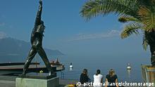 Bildergalerie Freddie Mercury wird 70 ARCHIV 2012 **** Seepromenade in Montreux am Genfer See, Schweiz, Europa | Verwendung weltweit © picture-alliance/chromorange