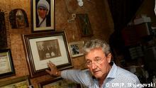 Mazedonien Alois Gumbar Neffe von Mutter Teresa