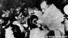 Indien Rajiv Gandhi Letztes Foto