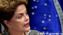 Brasilien Prozess zur Amtsenthebung Dilma Rousseff
