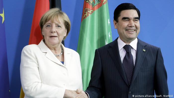 German, Turkmen leaders in Berlin