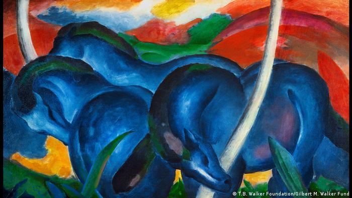Die Kunstbewegung Der Blaue Reiter Alle Multimedialen