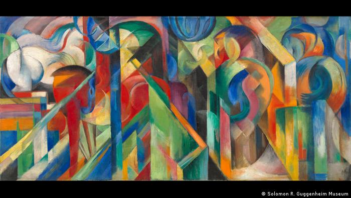 Franz Marc Stallungen, 1913 Foto: Solomon R. Guggenheim Museum, New York, Solomon R. Guggenheim Founding Collection