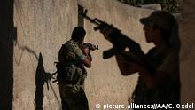 Syrien Dscharabulus Amarne FSA Kämpfer