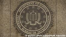 USA FBI Logo in Washington
