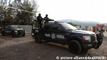 Federal police in Mexico