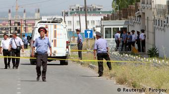 Kirgistan Explosion vor chinesischer Botschaft in Bischkek