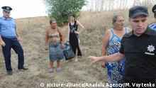 Ukraine Gewalt in Loshchinovka bei Odessa gegen Roma nach Mord an Kind