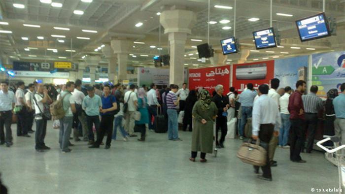 Iran Imam Flughafen in Teheran (toluetalaie)