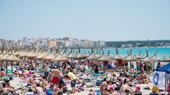 Spanien Mallorca - Strand von Arenal