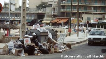 Spain Majorca - mountains of waste (picture-alliance/Bildarchiv)