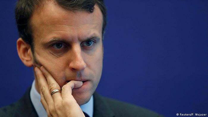 Frankreich Wirtschaftsminister Emmanuel Macron