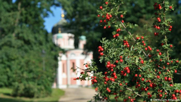 Православный храм Александра Невского в Потсдаме