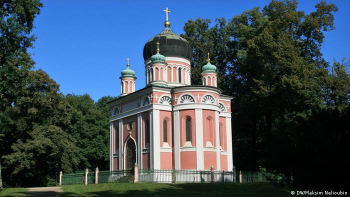 Храм Александра Невского в Потсдаме