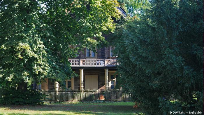 Бывший королевский дом в Александровке