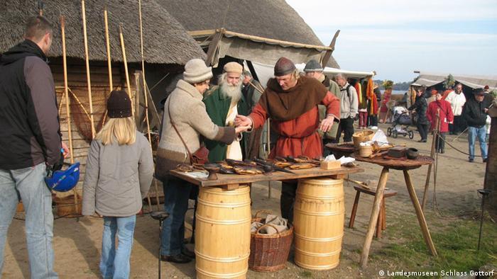 Реконструкция музея викингов