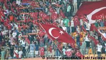 Türkei Fußballfans Fahnen