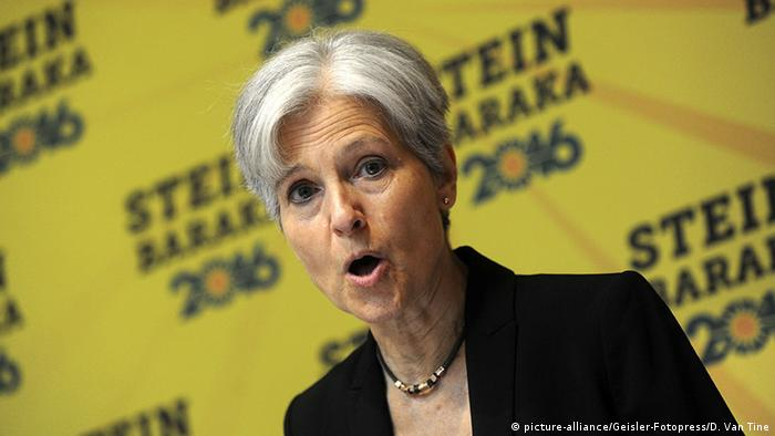 USA Jill Stein Green Party (picture-alliance/Geisler-Fotopress/D. Van Tine)
