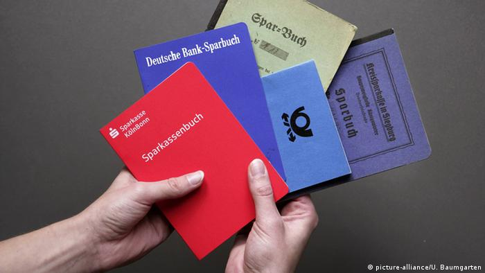German bank books