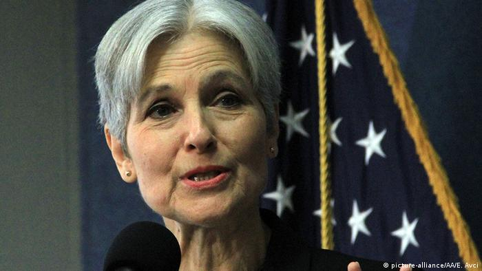 USA Jill Stein Green Party (picture-alliance/AA/E. Avci)