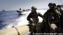 Italian navy in the Mediterranean (picture-alliance/dpa/G. Lami)