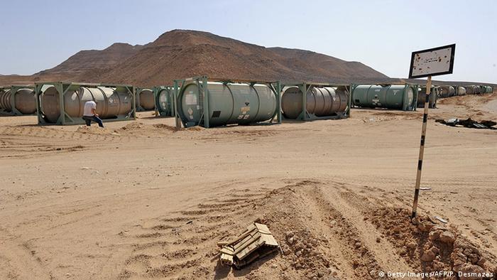 Libyen Chemietanks Symbolbild Chemiewaffenprogramm
