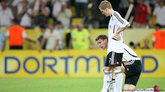 Fussball WM 2006 Halbfinale Bastian Schweinsteiger