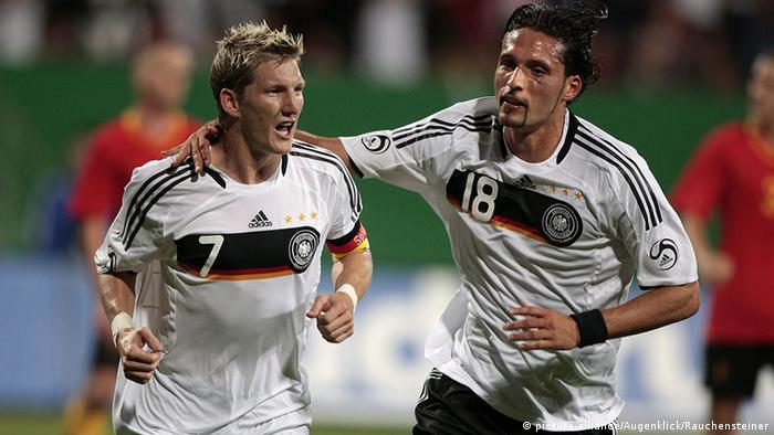Deutschland vs Belgien Bastian Schweinsteiger