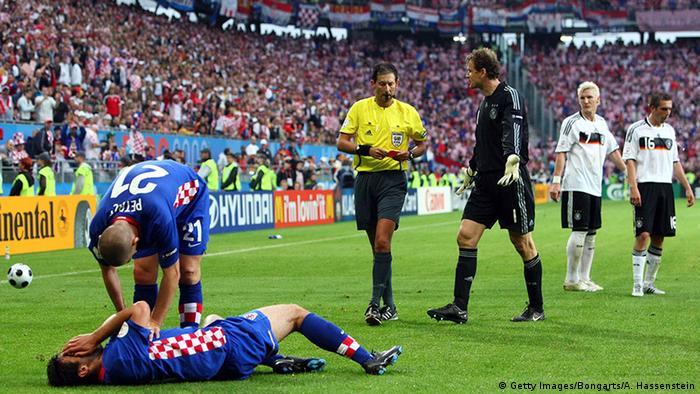 EM 2008 Deutschland vs Kroatien Bastian Schweinsteiger