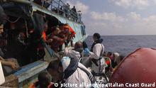 Mittelmeer Rettung von Flüchtlingen 30.08.2016