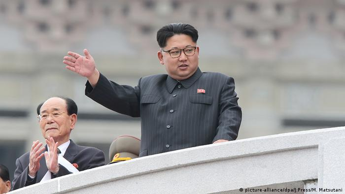 Nordkorea Kim Jong Un (picture-alliance/dpa/J.Press/M. Matsutani)