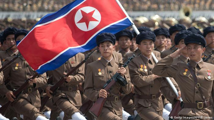 With 1.2 million active troops and another 6 million in the reserves and paramilitary, North Korea can call upon almost a quarter of its population to serve in the army at any given time. Every male in the country is required to undertake some form of military training and can be called to serve at any time. The North's bloated army is believed to outnumber its southern neighbor's by two-to-one.