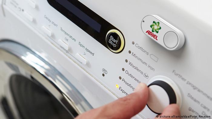 Amazon Dash - Bestellknopf für Waschmittel