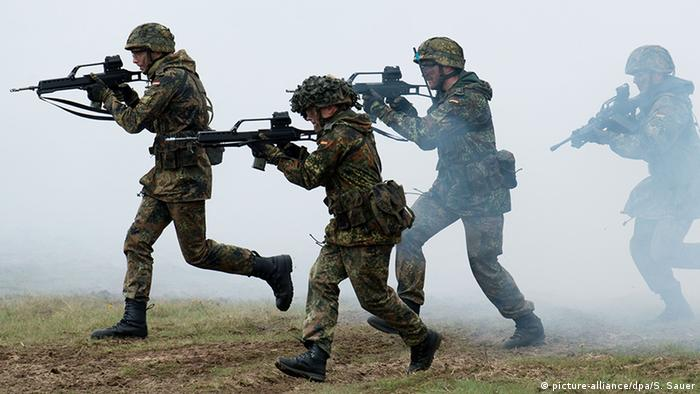 Deutschland Soldaten der Bundeswehr