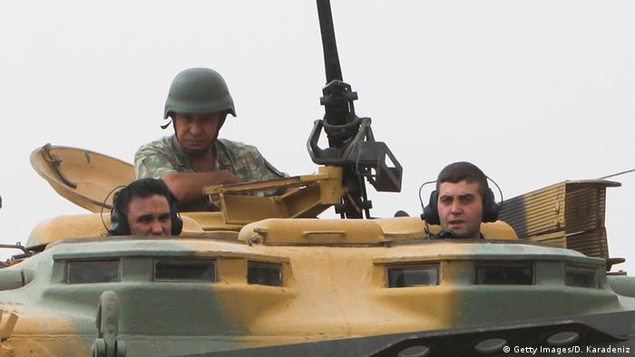 Turkish tank in Syria