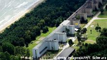 August 18, 2016 This aerial picture taken on August 18, 2016 shows recently created luxury apartments at the site of the heritage-protected Prora Complex in Prora, near Binz, on the island of Ruegen. / AFP / TOBIAS SCHWARZ ( (c) Getty Images/AFP/T. Schwarz