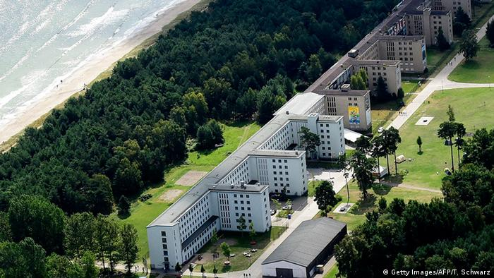 Recently created luxury apartments at the site of the heritage-protected Prora Complex in Prora, near Binz, on the island of Ruegen.