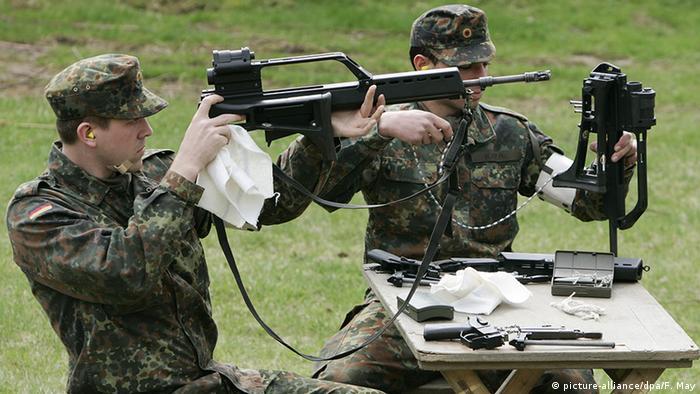 Deutschland Bundeswehr Grundausbildung