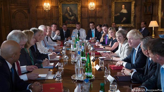 Britisches Parlament Brexit Kabinettsitzung