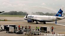 JetBlue nimmt Flugverkehr zwischen USA und Kuba auf
