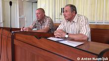 Krim - Simferopol, Journalist Mykola Semena im Gericht