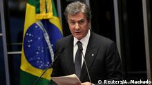 Brasilien Senator Fernando Collor