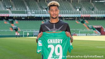Serge Gnabry Werder Bremen (picture-alliance/nordphoto/Ewert)
