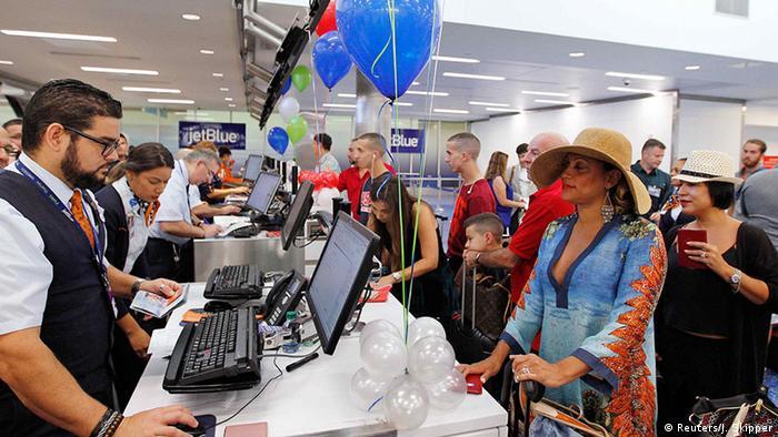 JetBlue nimmt Flugverkehr zwischen USA und Kuba auf (Reuters/J. Skipper)