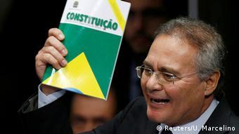 Brasilien Senator Renan Calheiros Amtsenthebung Rousseff Entscheidung (Reuters/U. Marcelino)